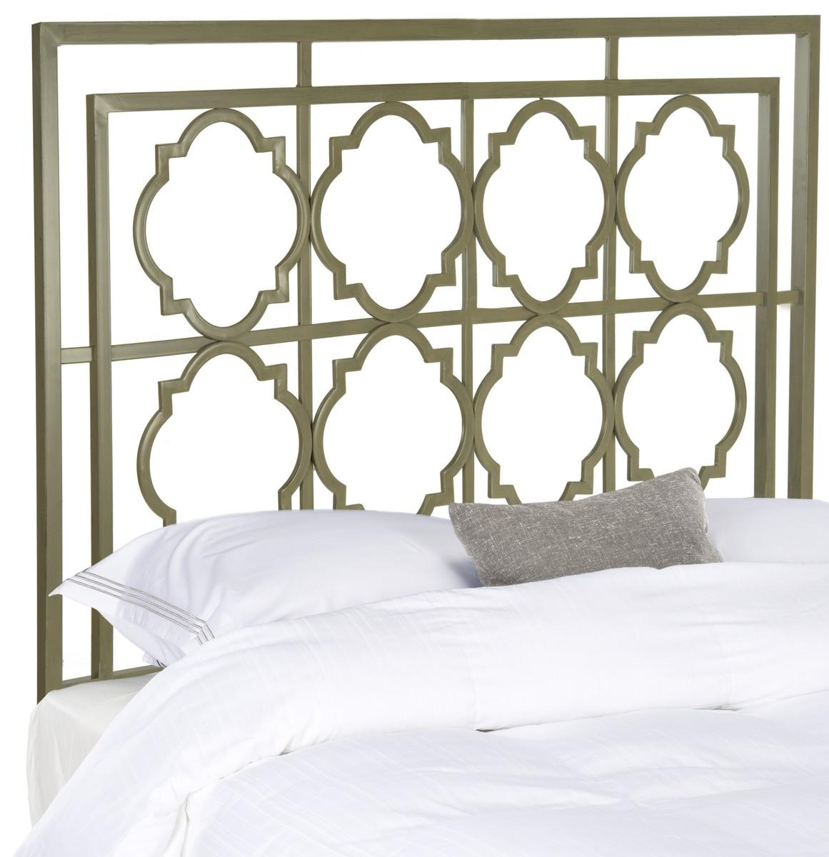 Silva Metal Headboard Headboards Furniture By Safavieh