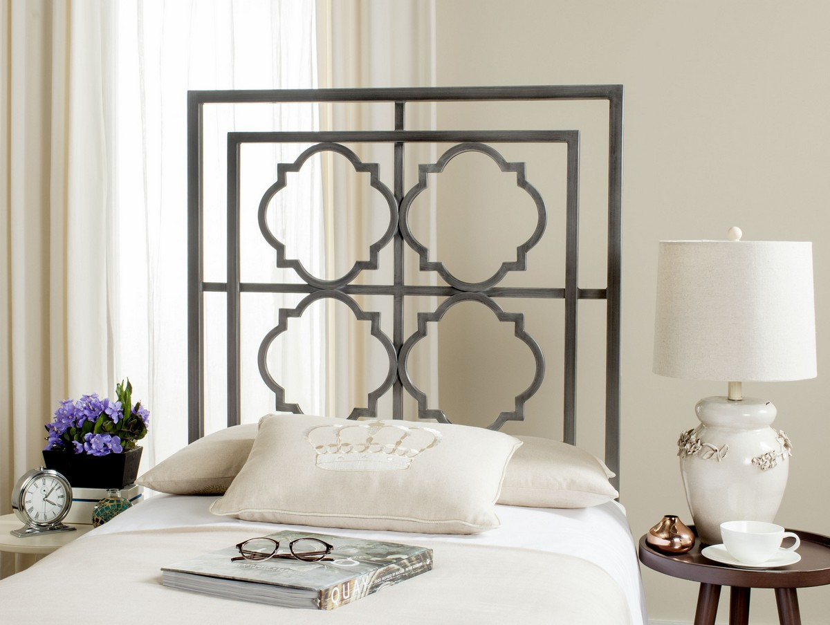 metal headboards fretwork headboard safavieh com