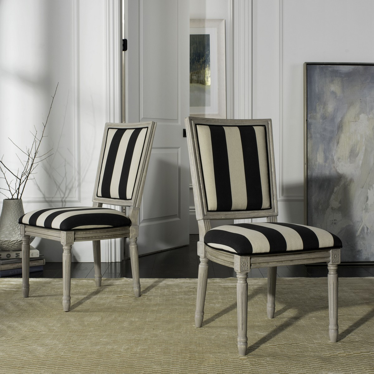 Fox6229n Set2 Dining Chairs Furniture By Safavieh