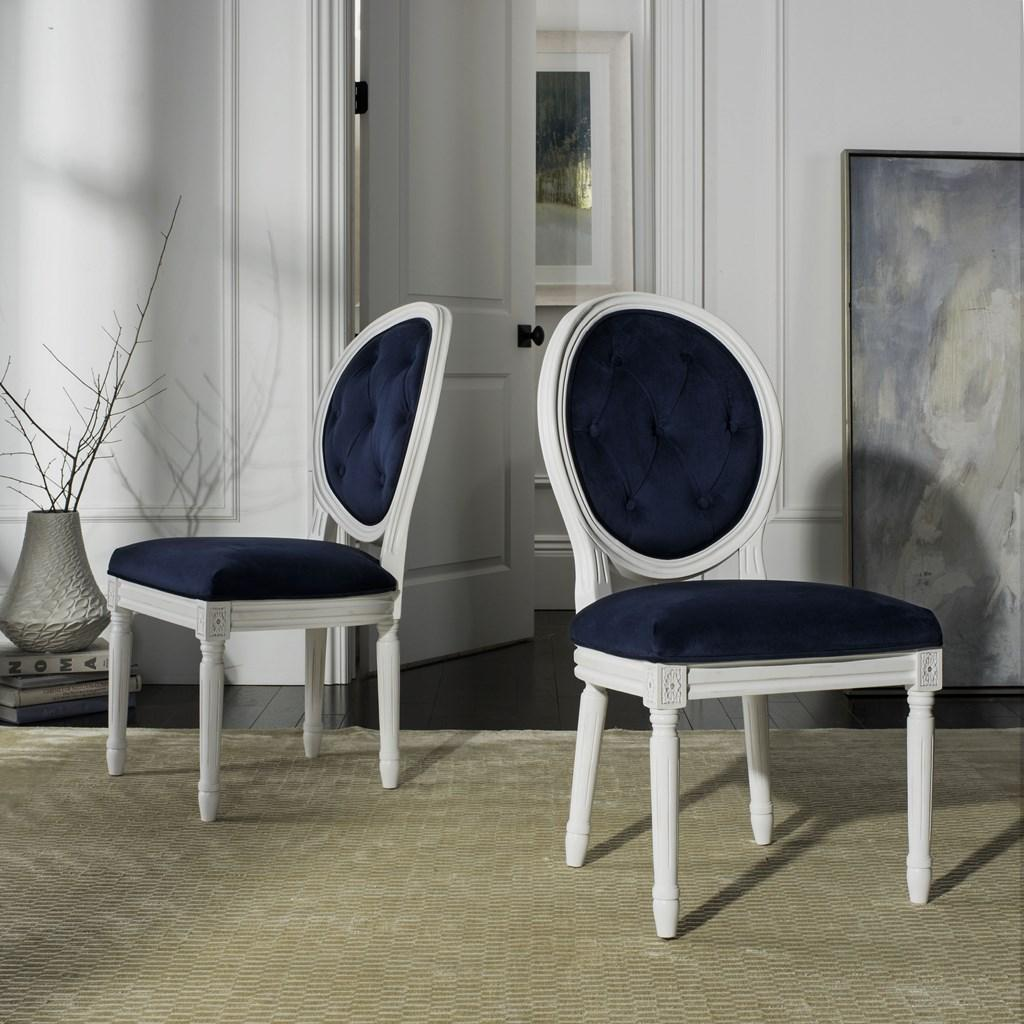 FOX6235A-SET2 Dining Chairs - Furniture by Safavieh