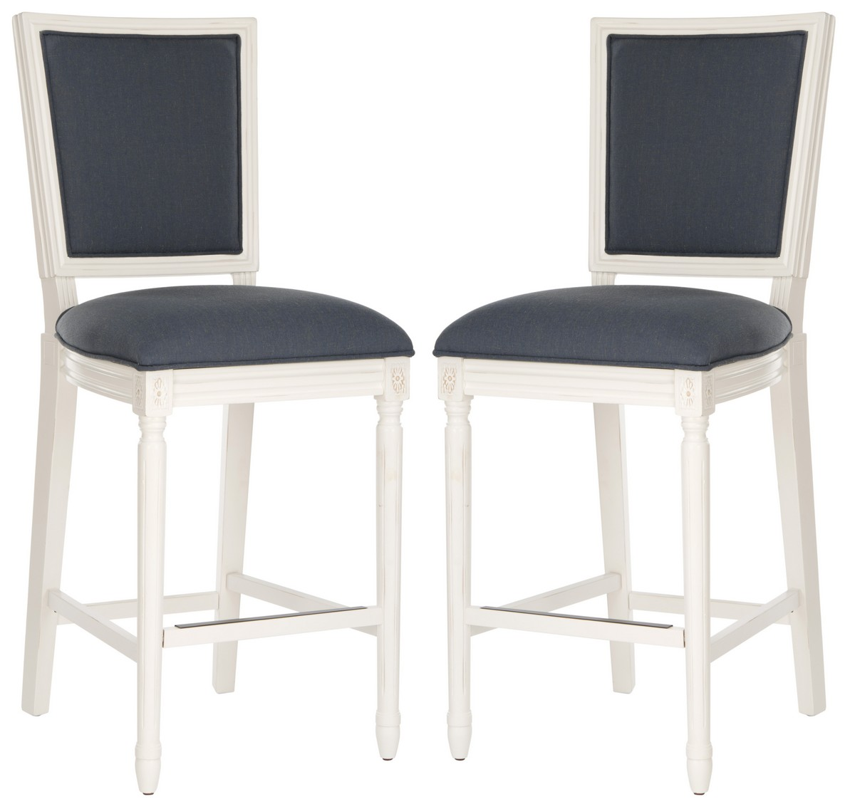 Stupendous Fox6246C Set2 Bar Stools Furniture By Safavieh Gmtry Best Dining Table And Chair Ideas Images Gmtryco