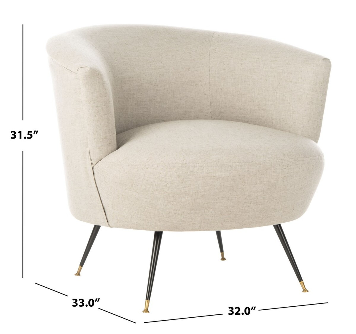 Fox6257c Accent Chairs Furniture By Safavieh
