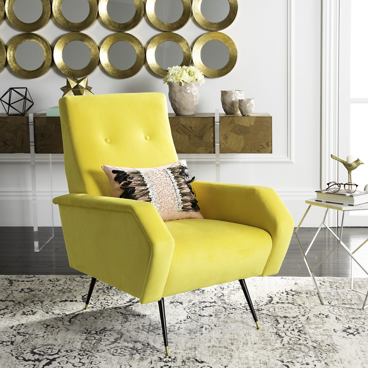 Energized With The Optimism Of Mid Century Modern Style, This Retro Accent  Chair Was Inspired By The Iconic Furnishings Of Top American Designers. Good Ideas