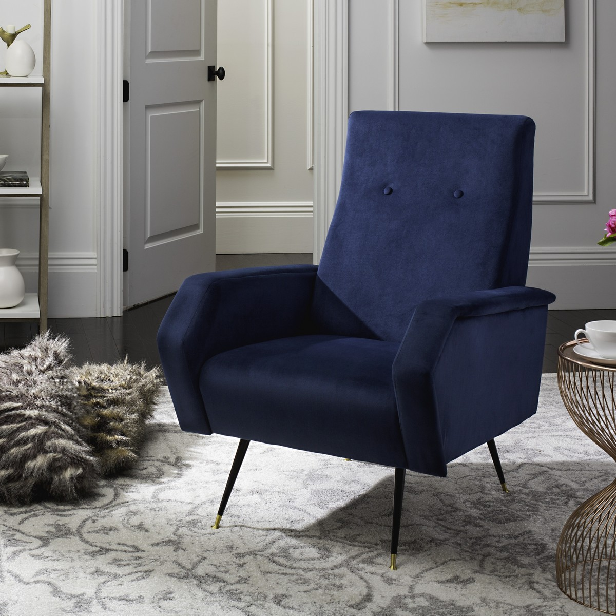 navy accent chairs chairs