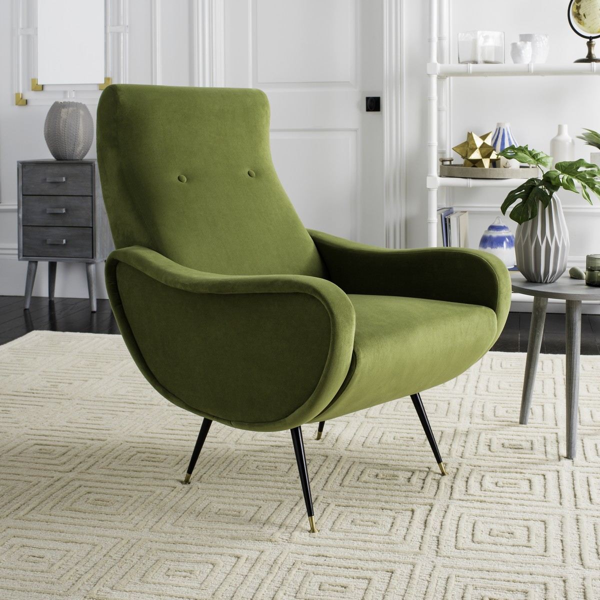 ACCENT CHAIRS. Color: Hunter Green. Save