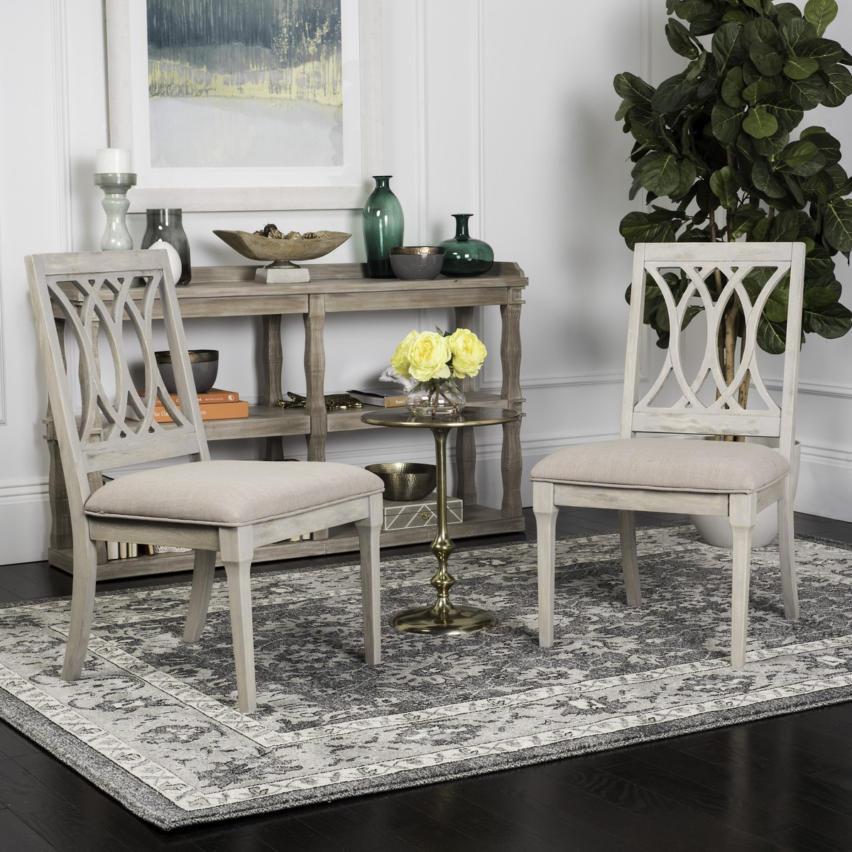 FOX6265C-SET2 Dining Chairs - Furniture by Safavieh