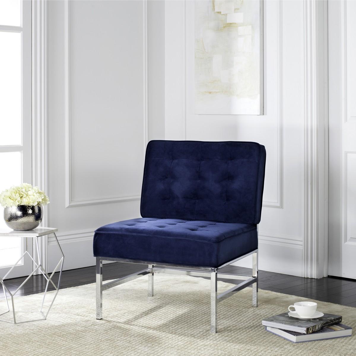Amazing Fox6268B Accent Chairs Furniture By Safavieh Machost Co Dining Chair Design Ideas Machostcouk