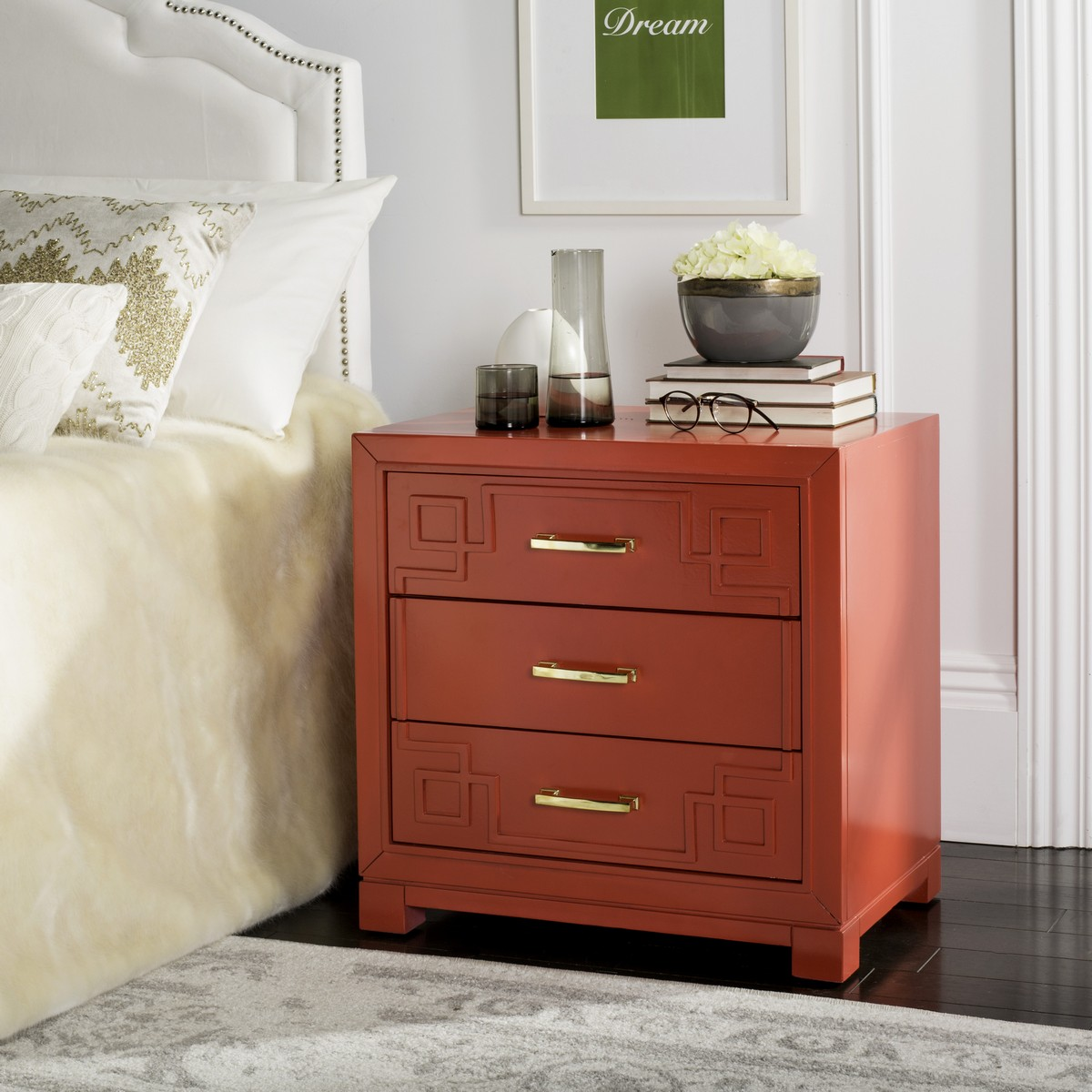 Fox6278e Accent Tables Nightstands Furniture By Safavieh