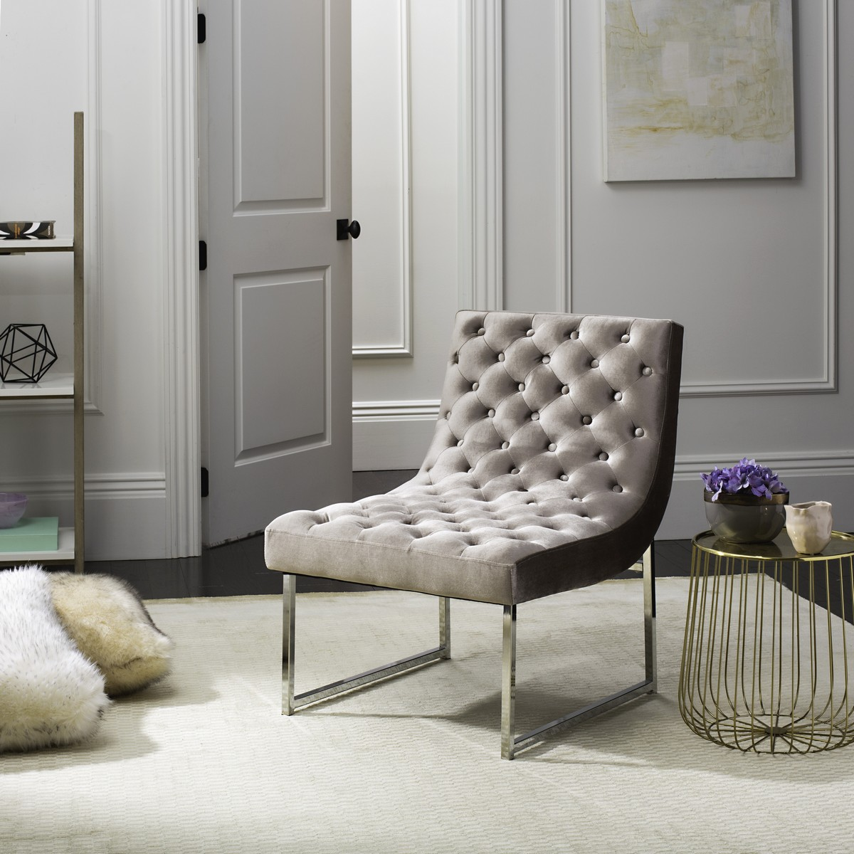 FOX6283A Accent Chairs