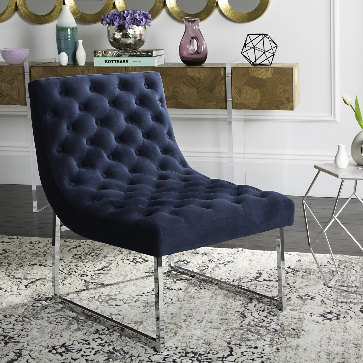 Terrific Fox6283B Accent Chairs Furniture By Safavieh Forskolin Free Trial Chair Design Images Forskolin Free Trialorg