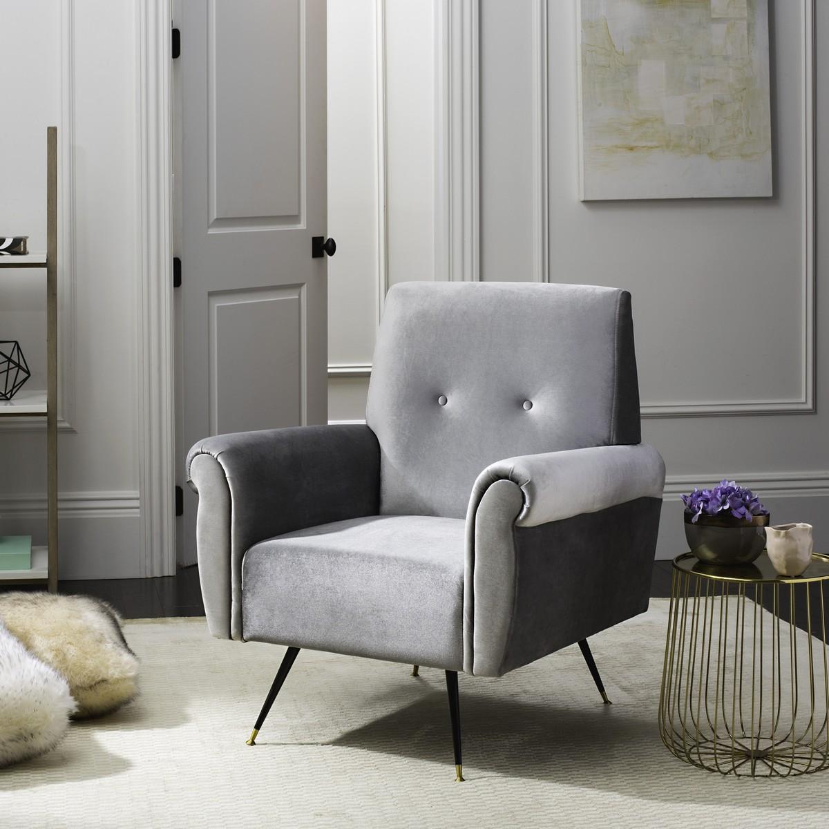 Wonderful Grey Accent Chair Interior