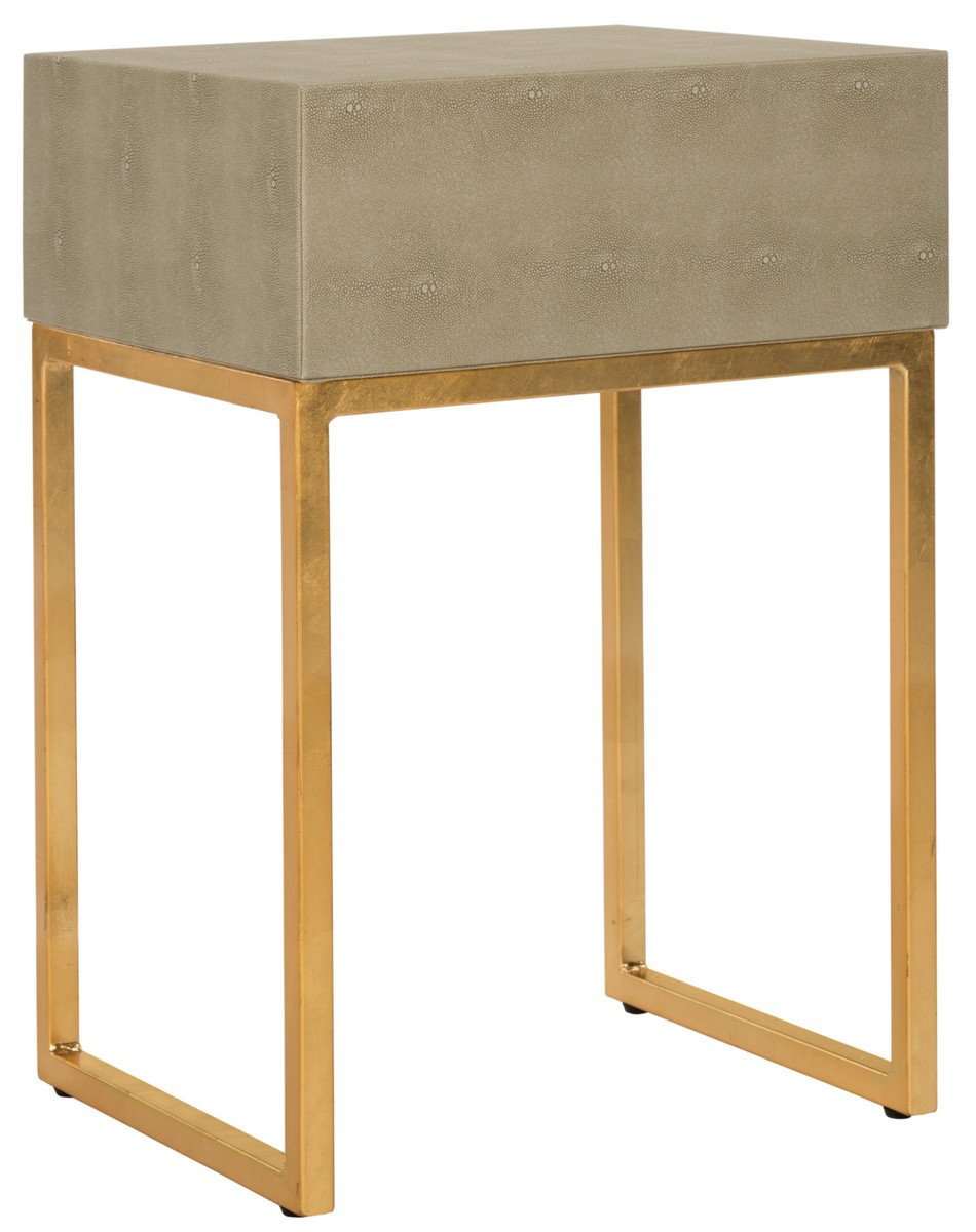 inspired by the modern designs found in milans top atelier this elegant side table makes a fashionable statement in the modern bedroom or