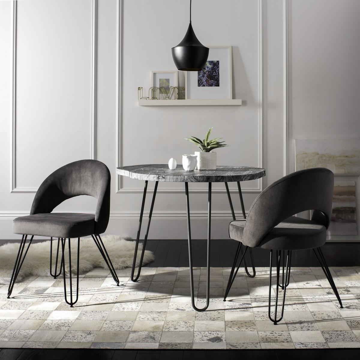 FOX6296B-SET2 Dining Chairs - Furniture by Safavieh