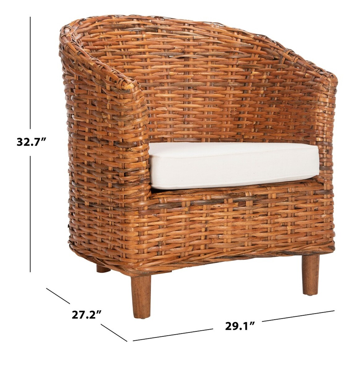 Magnificent Fox6501A Accent Chairs Furniture By Safavieh Ibusinesslaw Wood Chair Design Ideas Ibusinesslaworg
