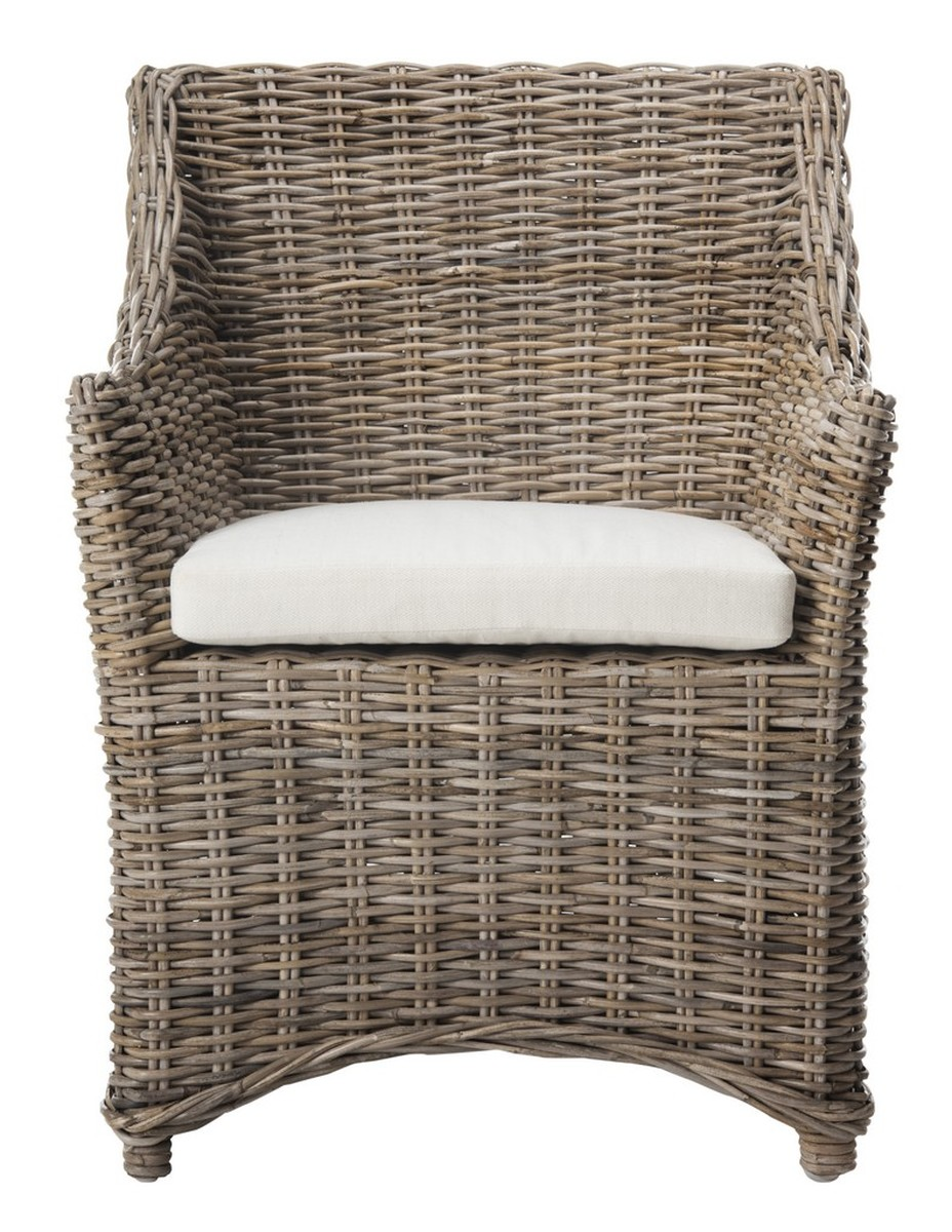 Envelope Your Guests In Comfort And Style With The Transitional Good Looks  Of The Woven Rattan Ventura Arm Chair. Crafted Of Tropical Kubu And Mango  Wood ...