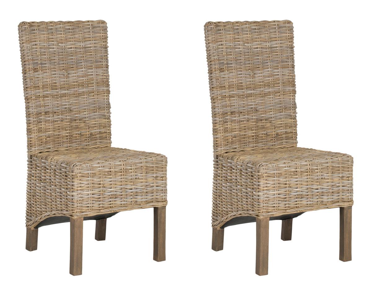 Fox6520b set2 dining chairs furniture by safavieh - Sofas de mimbre ...