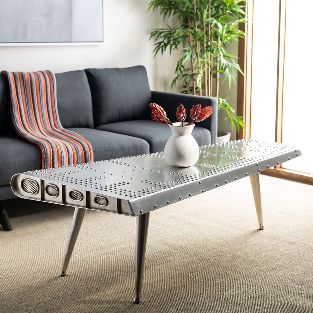 Fox7200a coffee tables furniture by safavieh aviator coffee table fox7200a coffee tables geotapseo Choice Image