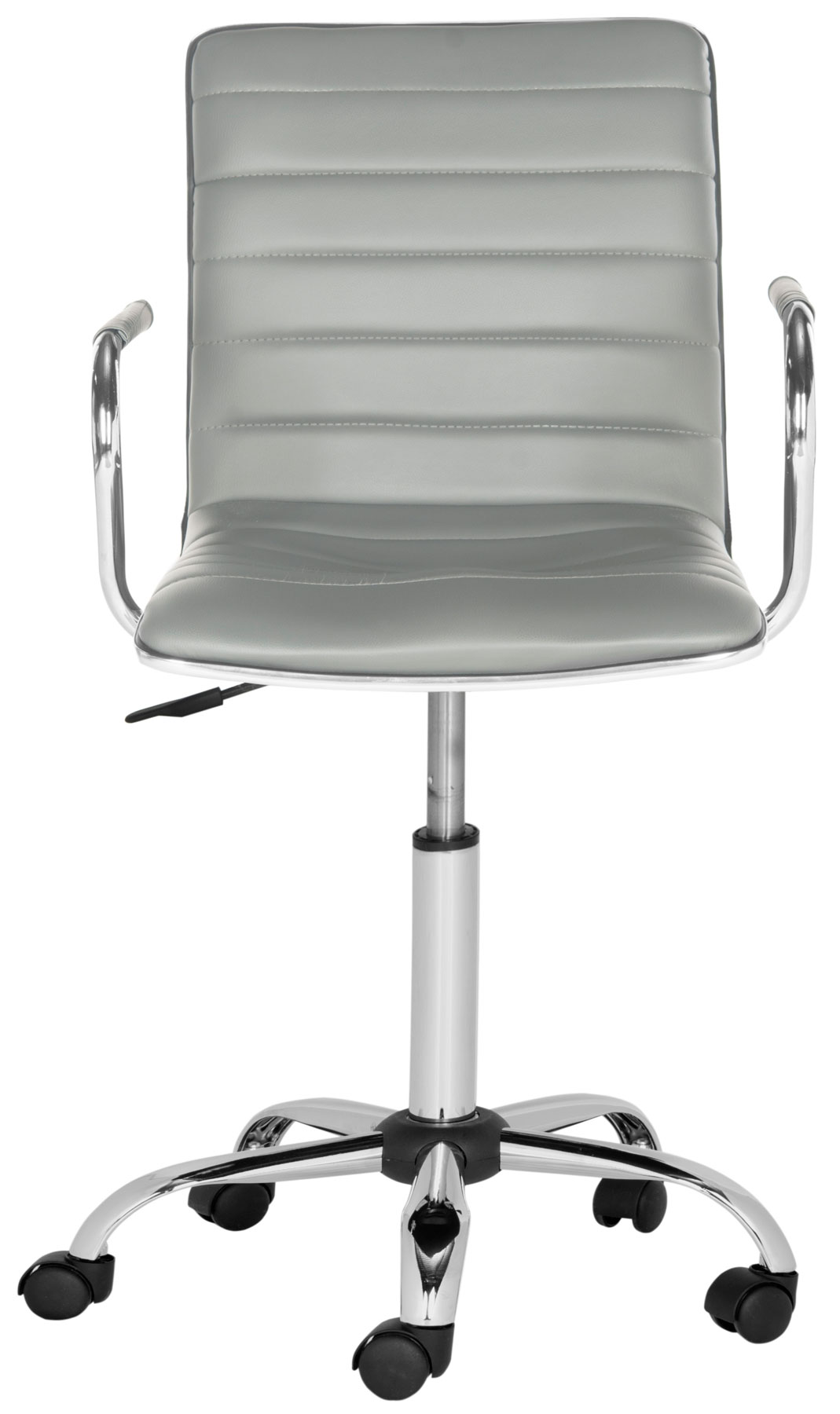 100 white swivel desk chair cult living deluxe white office