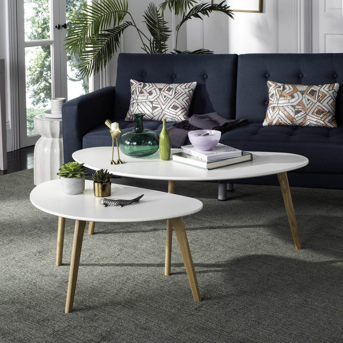Olida Double Coffee Table Fox8208a Tables