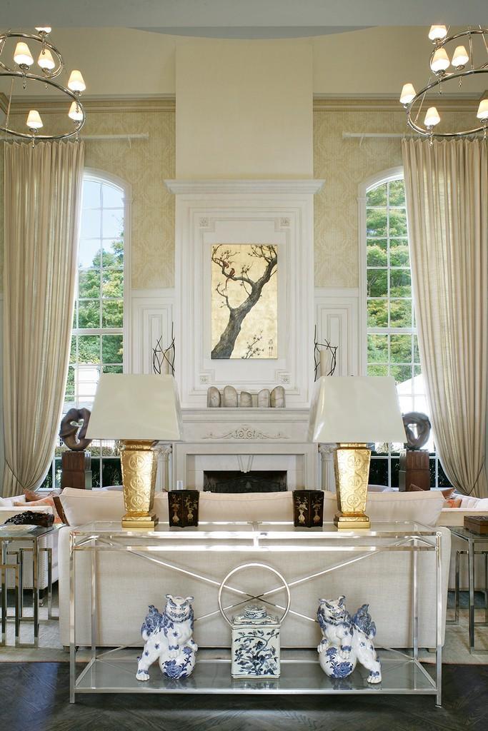 Safavieh Couture Art Deco Metal Console Table Safavieh