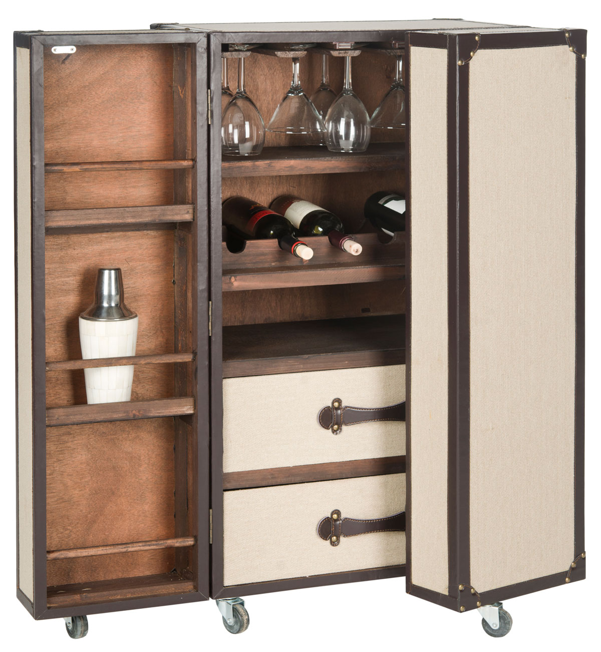 GRAYSON BAR CABINET FOX9511A BAR CARTS : cabinets for bar - Cheerinfomania.Com