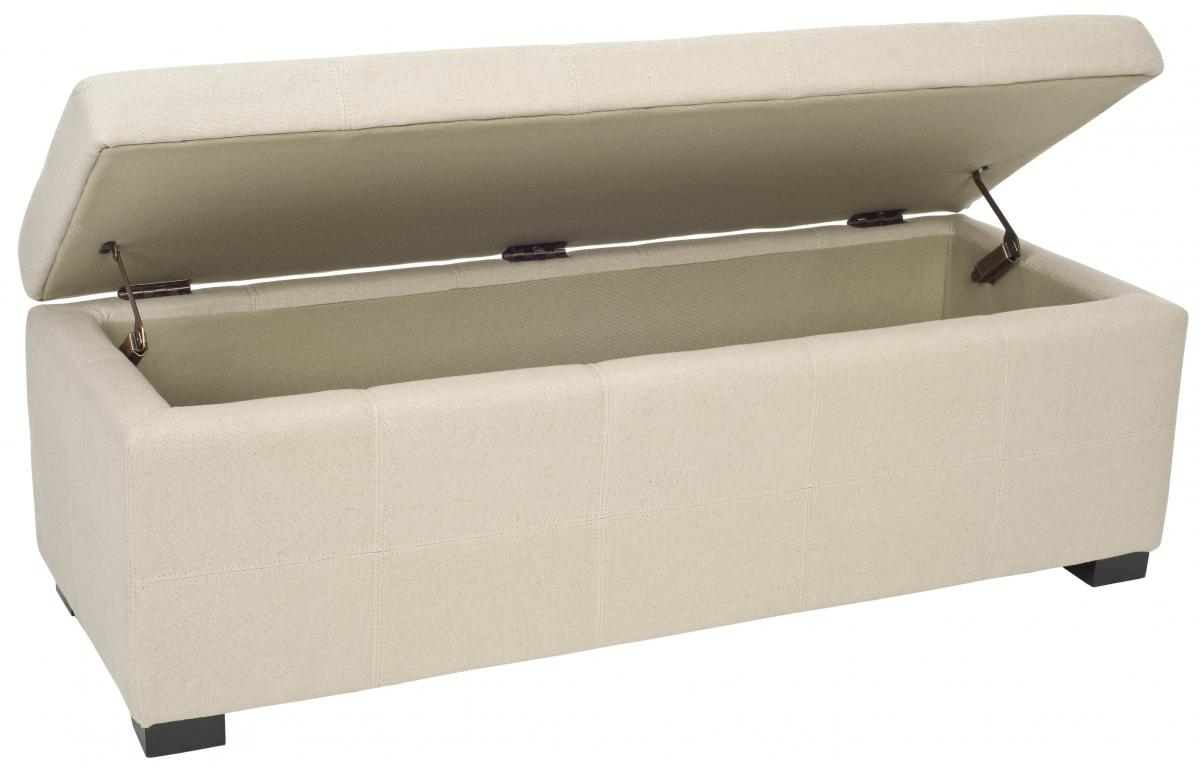 MAIDEN TUFTED STORAGE BENCH LG HUD8229L BENCHES