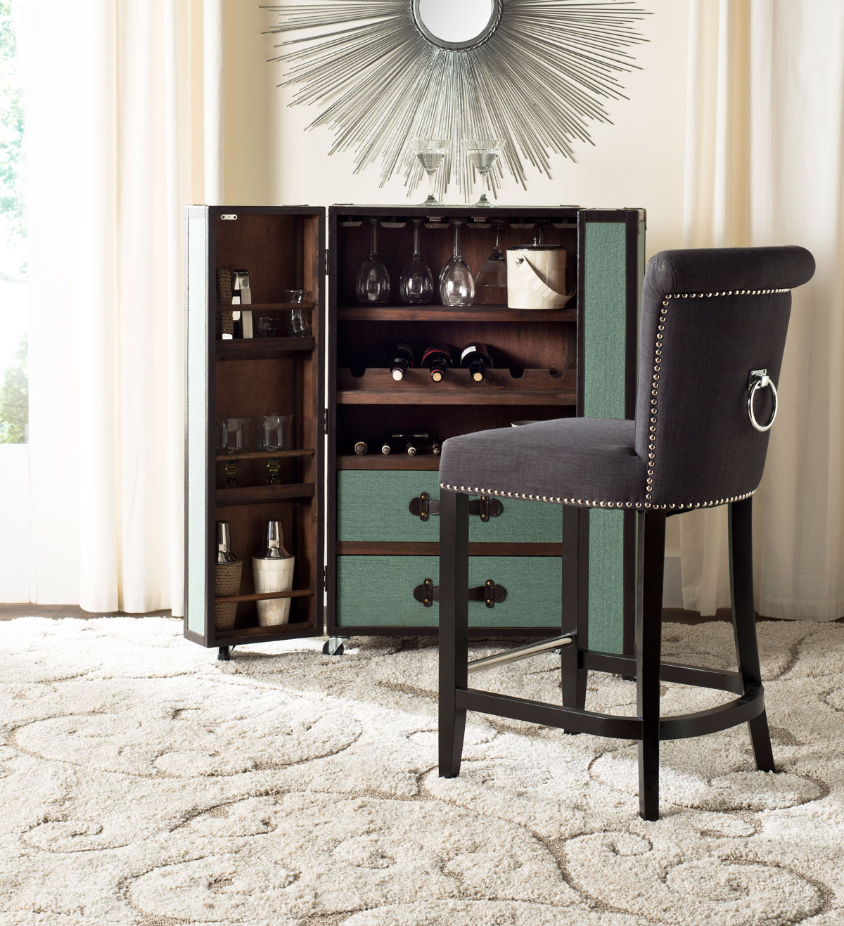 Hud8241a Counter Stools Furniture By Safavieh