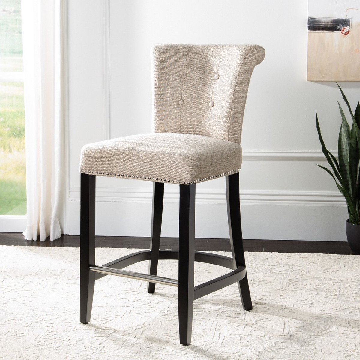 Hud8241b Counter Stools Furniture By Safavieh