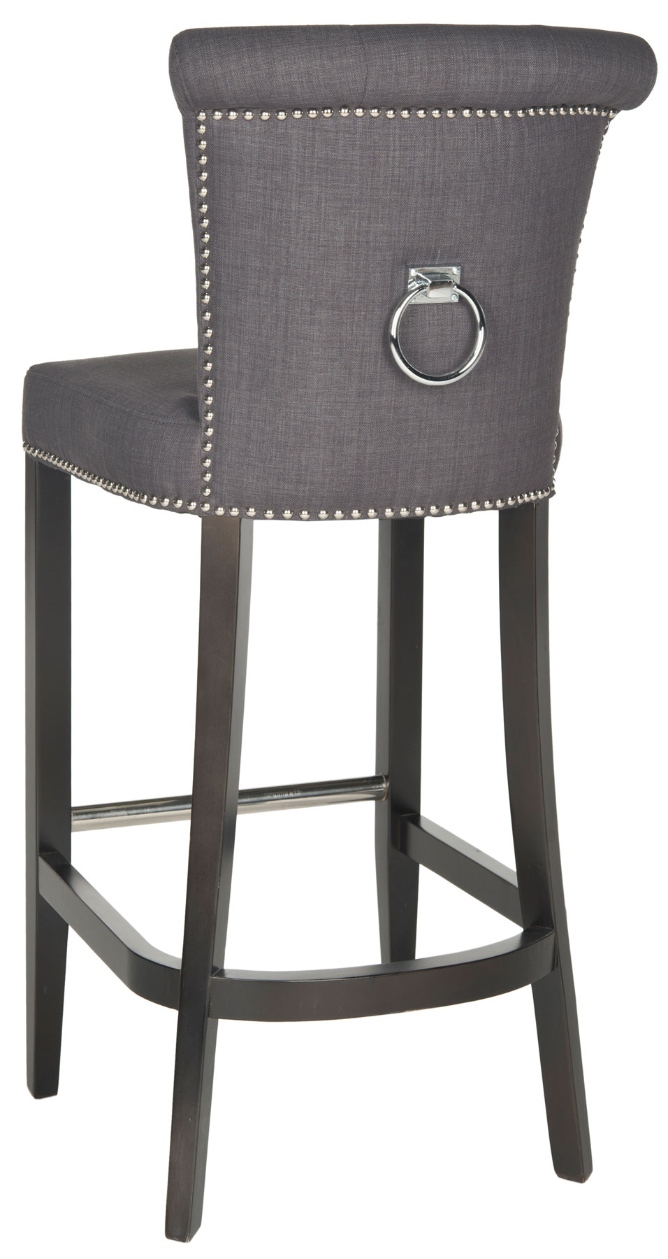 HUD8242A Bar Stools Furniture by Safavieh : hud8242a back from safavieh.com size 956 x 1800 jpeg 177kB