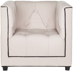 Charmant LITTLE DECORATOR CLUB CHAIR Item: KID1002A Color: Taupe U0026 Black