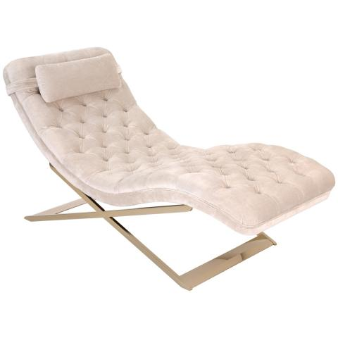 Nampa Upholstered Chaise Lounge Chair - Safavieh Couture