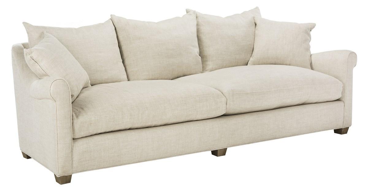 Modern Transitional Upholstered Sofa Savafieh