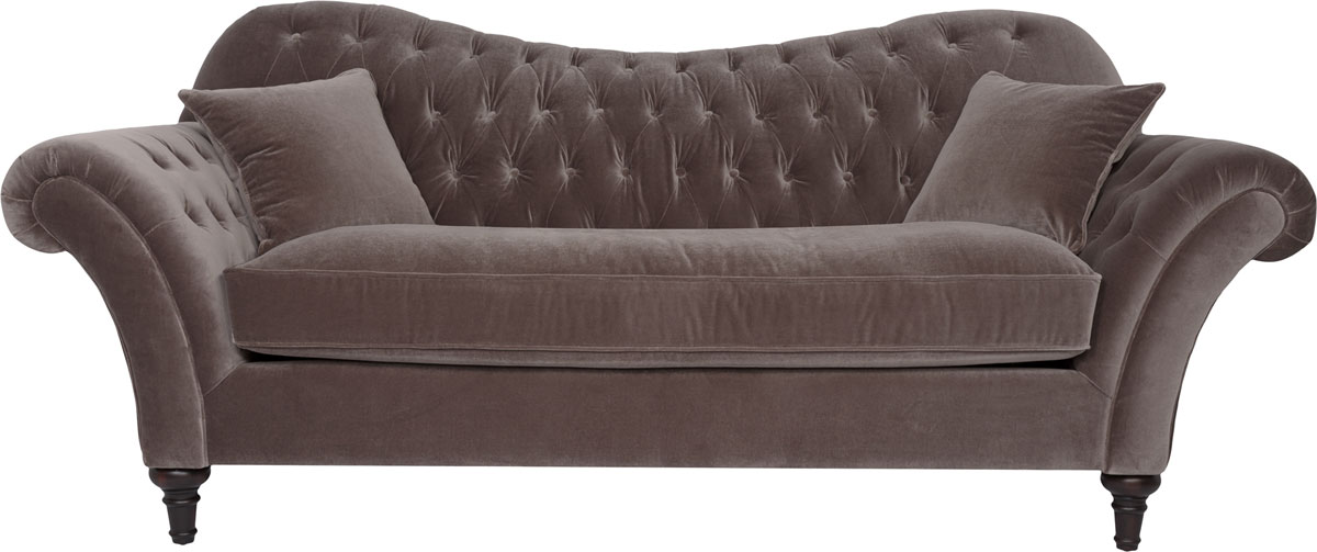 Classic Velvet Upholstered Tufted Sofa Safavieh Com