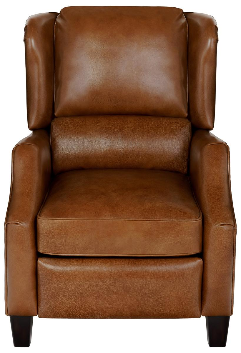 Modern Top Grain Leather Pushback Recliner Safavieh Com