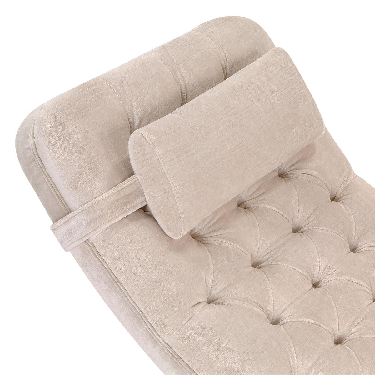 Nampa Upholstered Chaise Lounge Chair Safavieh Couture