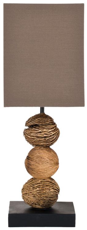 Xylia Xylocarpa: LIT5017A-SET2 Table Lamps