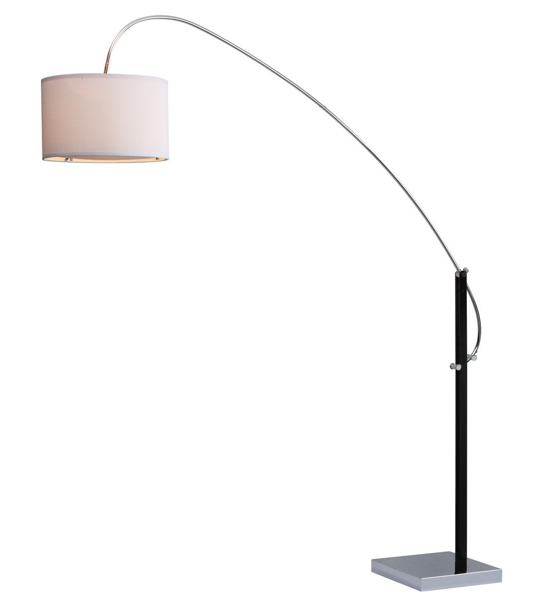 lyra arc floor lamp lit4353a