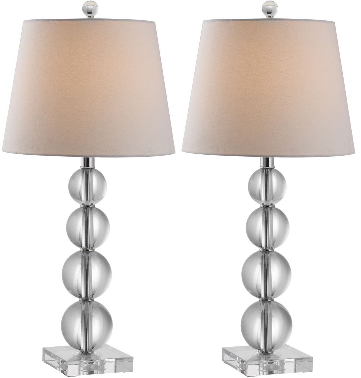 Lit4102a set2 table lamps lighting by safavieh for Images of table lamps