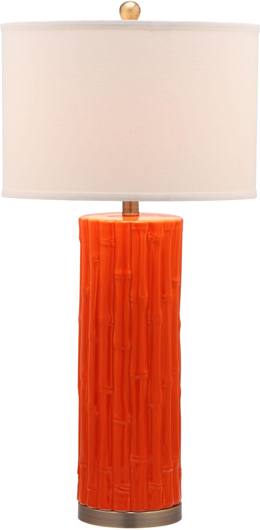 BAMBOO COLUMN TABLE LAMP LIT4149D SET2