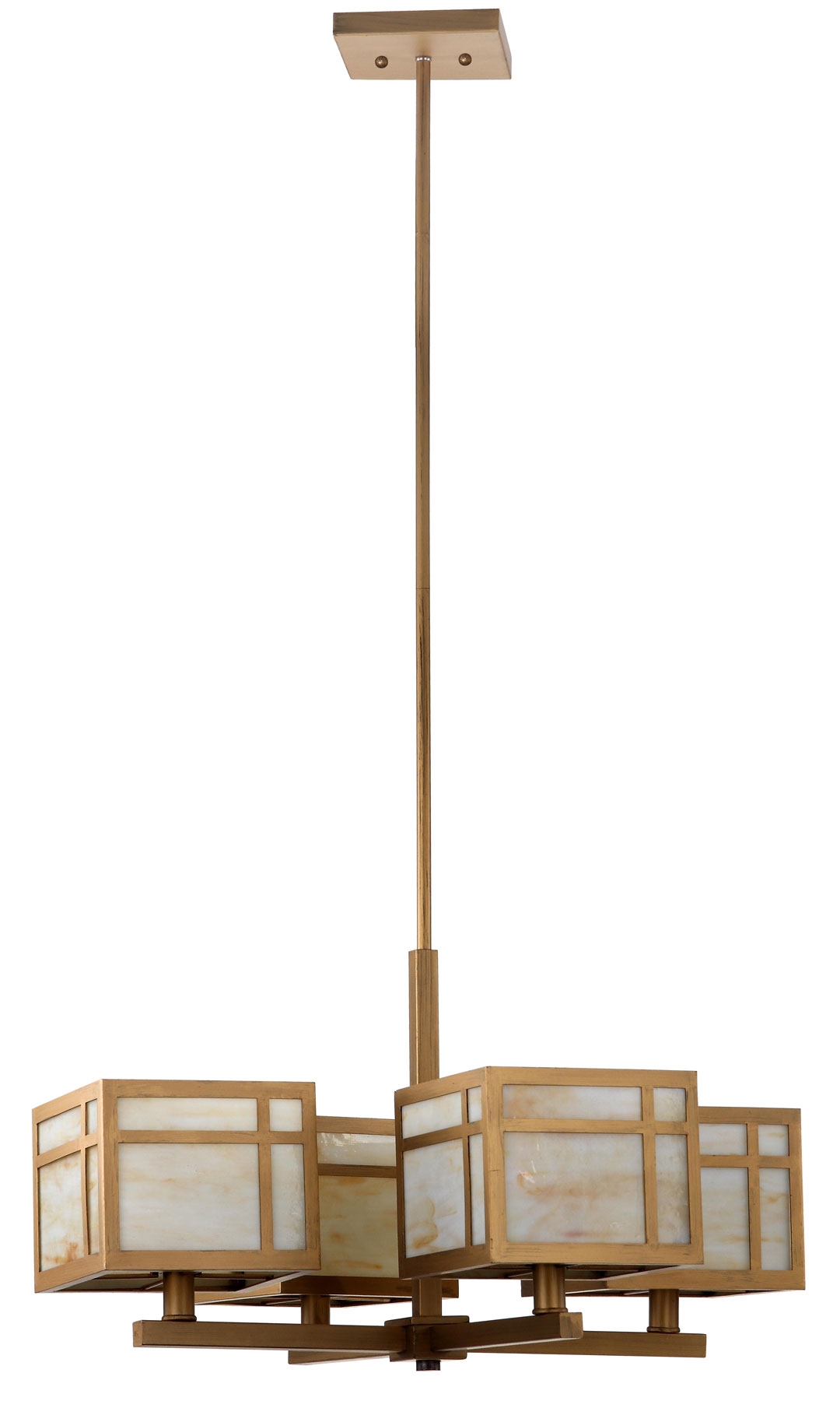 Lit4184a chandeliers lighting by safavieh craftsman 4 light antique gold 25 inch dia adjustable chandelier lit4184a aloadofball Images