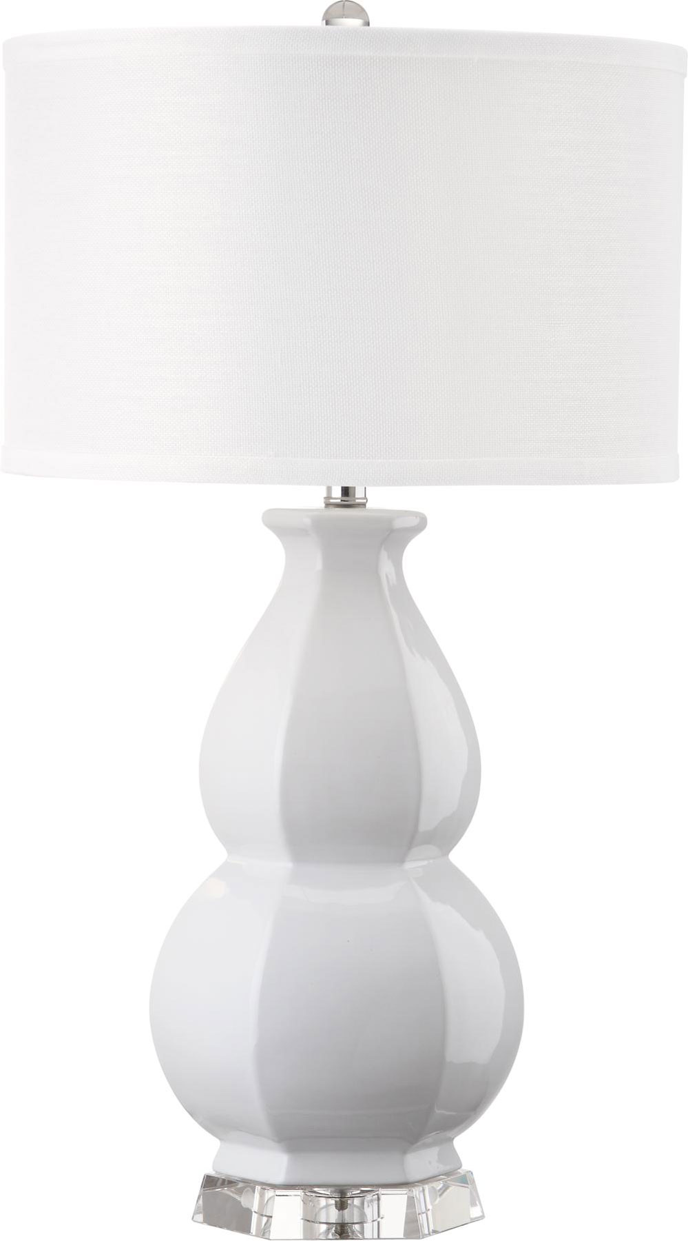 Lit4245c table lamps lighting by safavieh juniper 30 inch h white table lamp lit4245c aloadofball Images