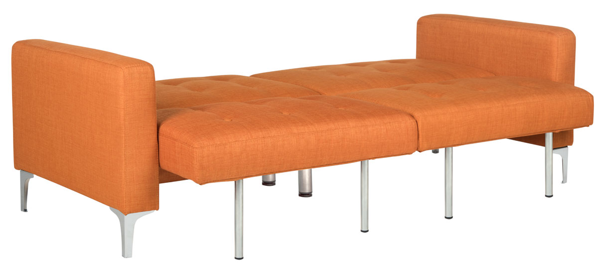 Soho Foldable Sofa Bed Lvs2000a Beds Color Orange