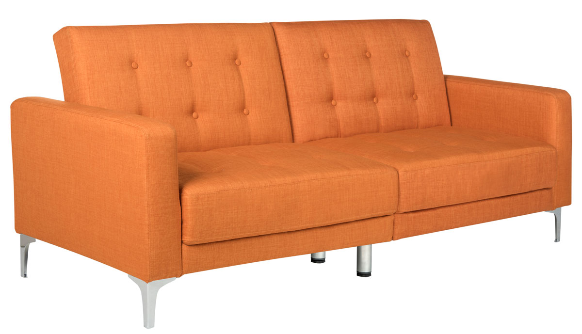 upholstered sofa bed | futon - safavieh