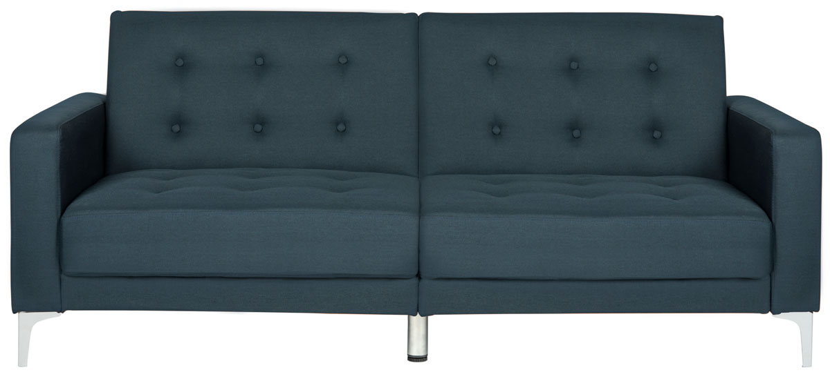 Designed To Instantly Transform Into A Foldable Futon Style Sofa Bed Its Clean Lines And Chic Metal Legs Make It Designer Must Have