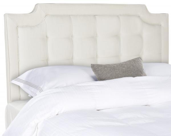 Sapphire Crème Tufted Linen Headboard