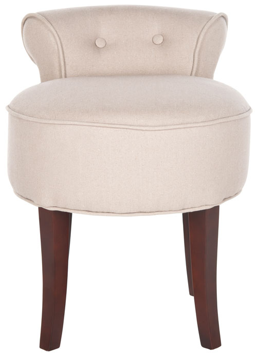 Brilliant Mcr4546A Vanity Stools Furniture By Safavieh Squirreltailoven Fun Painted Chair Ideas Images Squirreltailovenorg
