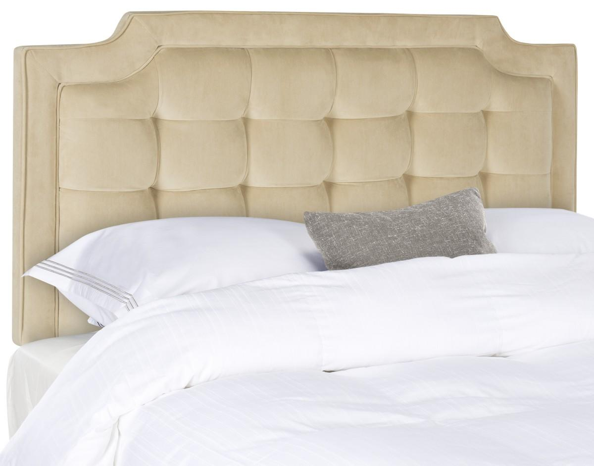 Sapphire Buckwheat Tufted Velvet Headboard Headboards - Furniture by