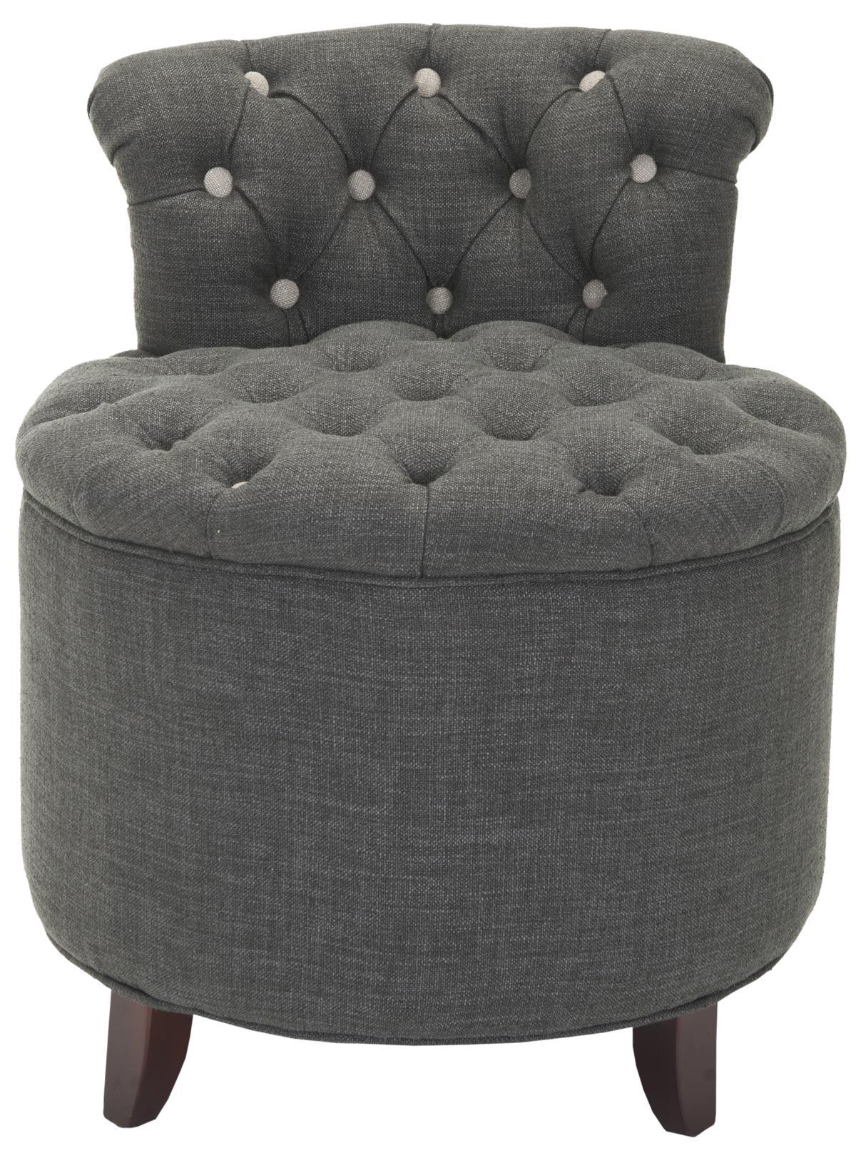vanity chair or stool. REBECCA TUFTED VANITY STOOL MCR4518A STOOLS Vanity Stools  Furniture by Safavieh