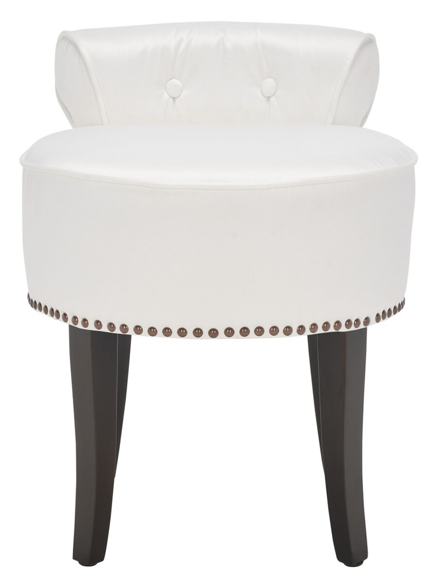 Georgia Vanity Stool Item Mcr4546t Color White