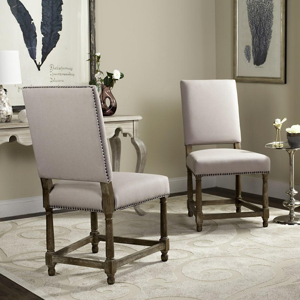 mcr4557a set2 dining chairs furniture by safavieh. Black Bedroom Furniture Sets. Home Design Ideas
